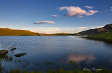 Creggenen lake wide view
