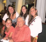 Bob and Granddaughters