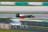 Vodafone McLaren Mercedes' Jenson Button
