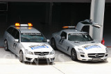 Medical and Safety cars from AMG/Mercedes Benz