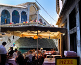 Would you like to have lunch under the Rialto Bridge?