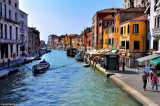 During the afternoon, the canals, the water, the buildings, have a beautiful strange light...