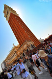 The heart of Venice: Piazza San Marco. Strong backlight, for sure!  ;(