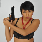 AMERICAS  (She could be dangerous...)  :))