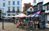Tea rooms @ open air. Exeter, UK