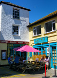 At Mevagissey (UK) you can find the best Fish & Chips. YAY! :)