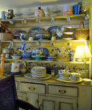 Very British Style... The old rectory tea room,Castle Combe, UK