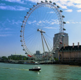 You want a ride up here? Millennium Wheel (Commonly the London Eye) London