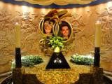 Princess Diana and Dodi Al Fayed memorial in Harrods Store,London