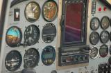 The panel controls