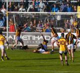 in the net - goal.