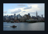 Manhattan from the Hudson River