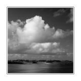 Clouds. Hamilton Harbour