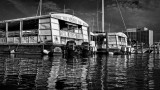 River Taxis in B/W