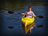 Spencer and Kayak
