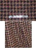 Chocolate/Multi Wool Boucle