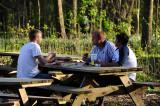 Dinner in Rowe Woods