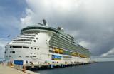 Freedom of the Seas Docked Falmouth Jamaica