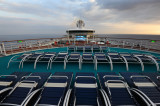 Top Deck Morning Freedom of the Seas