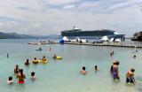 Swiming in Haiti