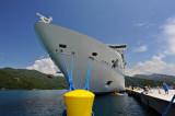 Docked in Haiti Royal Caribbean Resort Island