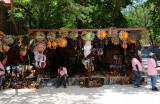 Haitian Art Vendor