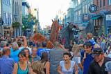Festival d'ete de Quebec, Caballos de Menorca