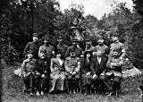 Officiers dans le parc