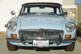 MGB 1971, une voiture Anglaise chez un Français aux USA