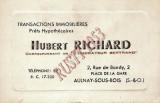Richard, transactions immobileres