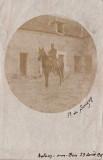 Ferme de Savigny - a cheval dans la cour