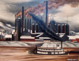 The Lucy Plant, Carnegie Steel, Pittsburgh, 1935-1936