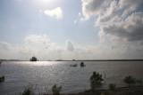 Mississippi River at Bonnet Carre' Spillway - May 1, 2011 - 18 feet on gauge