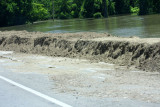 Hwy. 61 (Airline Highway) on Montz side of Spillway Bridge - 2011