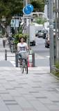 Wheeling Down the Street