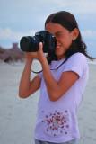 Mariana with my Nikon F100