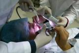 En clase de foto dental