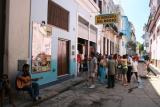 outside La Bodeguita del Medio bar
