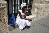 cuban woman with a cigar