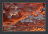 Atmospheric Splash Of Bronze At Sunset