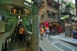 Hong Kong Central–Mid-levels Escalators