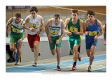 first heat 1000m men