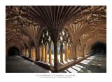 Cloister at Canterbury Cathedral