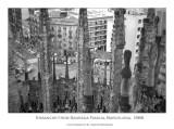 Gaudí looking down on Cerdá