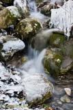 Icy Winter Stream