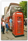 Virgin Mobile Bus And Phone Booth