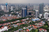 Indonesia from a Helicopter