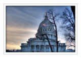 Capitol at Evening Time
