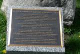 Covered bridge plaque