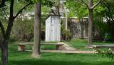 Outhouse at John Wayne birthplace